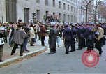 Image of Peace activists demonstrate against Vietnam War Washington DC USA, 1969, second 4 stock footage video 65675042918
