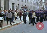 Image of Peace activists demonstrate against Vietnam War Washington DC USA, 1969, second 5 stock footage video 65675042918