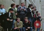 Image of Peace activists demonstrate against Vietnam War Washington DC USA, 1969, second 24 stock footage video 65675042918