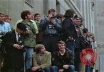 Image of Peace activists demonstrate against Vietnam War Washington DC USA, 1969, second 27 stock footage video 65675042918