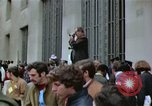 Image of Peace activists demonstrate against Vietnam War Washington DC USA, 1969, second 40 stock footage video 65675042918