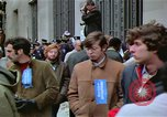 Image of Peace activists demonstrate against Vietnam War Washington DC USA, 1969, second 42 stock footage video 65675042918