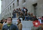 Image of Peace activists demonstrate against Vietnam War Washington DC USA, 1969, second 49 stock footage video 65675042918