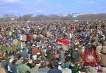 Image of Vietnam war pacifists march Washington DC USA, 1969, second 16 stock footage video 65675042920
