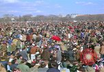Image of Vietnam war pacifists march Washington DC USA, 1969, second 17 stock footage video 65675042920