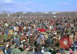 Image of Vietnam war pacifists march Washington DC USA, 1969, second 18 stock footage video 65675042920