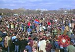 Image of Vietnam war pacifists march Washington DC USA, 1969, second 21 stock footage video 65675042920