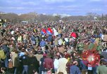 Image of Vietnam war pacifists march Washington DC USA, 1969, second 26 stock footage video 65675042920