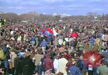 Image of Vietnam war pacifists march Washington DC USA, 1969, second 27 stock footage video 65675042920