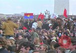 Image of Vietnam war pacifists march Washington DC USA, 1969, second 31 stock footage video 65675042920