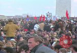 Image of Vietnam war pacifists march Washington DC USA, 1969, second 32 stock footage video 65675042920