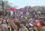 Image of Vietnam war pacifists march Washington DC USA, 1969, second 34 stock footage video 65675042920