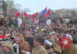 Image of Vietnam war pacifists march Washington DC USA, 1969, second 35 stock footage video 65675042920