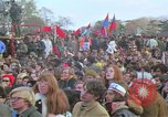 Image of Vietnam war pacifists march Washington DC USA, 1969, second 36 stock footage video 65675042920