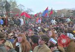 Image of Vietnam war pacifists march Washington DC USA, 1969, second 37 stock footage video 65675042920