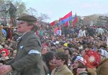 Image of Vietnam war pacifists march Washington DC USA, 1969, second 39 stock footage video 65675042920