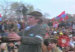 Image of Vietnam war pacifists march Washington DC USA, 1969, second 40 stock footage video 65675042920