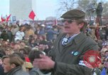 Image of Vietnam war pacifists march Washington DC USA, 1969, second 42 stock footage video 65675042920