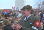 Image of Vietnam war pacifists march Washington DC USA, 1969, second 43 stock footage video 65675042920