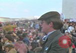 Image of Vietnam war pacifists march Washington DC USA, 1969, second 44 stock footage video 65675042920