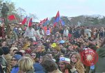 Image of Vietnam war pacifists march Washington DC USA, 1969, second 47 stock footage video 65675042920