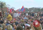 Image of Vietnam war pacifists march Washington DC USA, 1969, second 49 stock footage video 65675042920