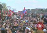 Image of Vietnam war pacifists march Washington DC USA, 1969, second 51 stock footage video 65675042920