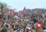 Image of Vietnam war pacifists march Washington DC USA, 1969, second 53 stock footage video 65675042920