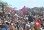 Image of Vietnam war pacifists march Washington DC USA, 1969, second 54 stock footage video 65675042920