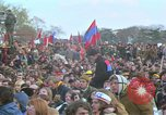 Image of Vietnam war pacifists march Washington DC USA, 1969, second 55 stock footage video 65675042920