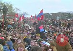 Image of Vietnam war pacifists march Washington DC USA, 1969, second 56 stock footage video 65675042920