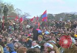 Image of Vietnam war pacifists march Washington DC USA, 1969, second 58 stock footage video 65675042920