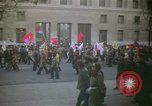 Image of pacifists march against Vietnam War Washington DC USA, 1969, second 7 stock footage video 65675042921