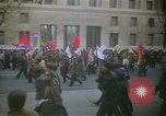 Image of pacifists march against Vietnam War Washington DC USA, 1969, second 8 stock footage video 65675042921