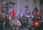 Image of pacifists march against Vietnam War Washington DC USA, 1969, second 9 stock footage video 65675042921
