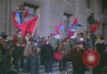 Image of pacifists march against Vietnam War Washington DC USA, 1969, second 13 stock footage video 65675042921