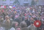 Image of pacifists march against Vietnam War Washington DC USA, 1969, second 23 stock footage video 65675042921