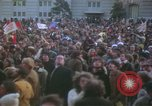 Image of pacifists march against Vietnam War Washington DC USA, 1969, second 24 stock footage video 65675042921