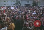 Image of pacifists march against Vietnam War Washington DC USA, 1969, second 25 stock footage video 65675042921