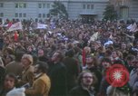 Image of pacifists march against Vietnam War Washington DC USA, 1969, second 26 stock footage video 65675042921