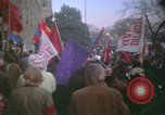 Image of pacifists march against Vietnam War Washington DC USA, 1969, second 28 stock footage video 65675042921