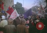 Image of pacifists march against Vietnam War Washington DC USA, 1969, second 29 stock footage video 65675042921