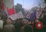 Image of pacifists march against Vietnam War Washington DC USA, 1969, second 30 stock footage video 65675042921