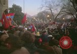 Image of pacifists march against Vietnam War Washington DC USA, 1969, second 36 stock footage video 65675042921