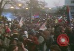 Image of pacifists march against Vietnam War Washington DC USA, 1969, second 38 stock footage video 65675042921
