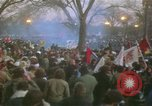 Image of pacifists march against Vietnam War Washington DC USA, 1969, second 46 stock footage video 65675042921