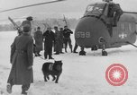 Image of avalanche rescue Bludenz Austria, 1954, second 27 stock footage video 65675042922