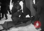 Image of avalanche rescue Bludenz Austria, 1954, second 52 stock footage video 65675042922