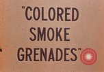 Image of colored smoke grenades United States USA, 1945, second 18 stock footage video 65675042930