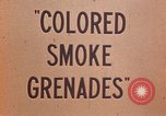 Image of colored smoke grenades United States USA, 1945, second 19 stock footage video 65675042930